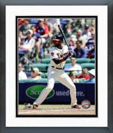 Atlanta Braves Jason Heyward Action Framed Photo