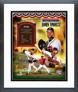 Atlanta Braves John Smoltz MLB HOF Legends Composite Framed Photo