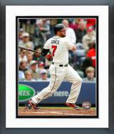 Atlanta Braves Jonny Gomes Action Framed Photo