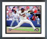 Atlanta Braves Julio Teheran Action Framed Photo