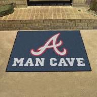 Atlanta Braves Man Cave All-Star Rug