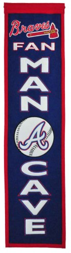 Atlanta Braves Man Cave Banner