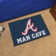 Atlanta Braves Man Cave Starter Mat