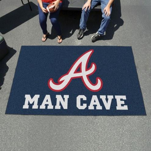 Atlanta Braves Man Cave Ulti-Mat Rug