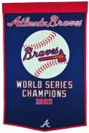 Winning Streak Atlanta Braves Major League Baseball Dynasty Banner