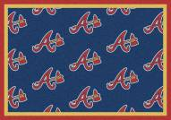 Atlanta Braves MLB Repeat Area Rug