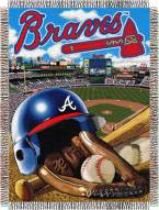 Atlanta Braves MLB Woven Tapestry Throw Blanket