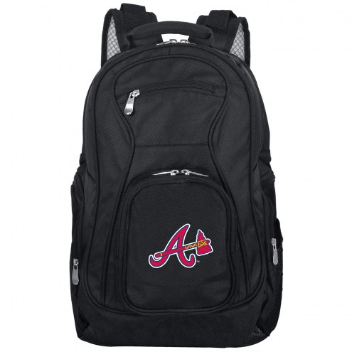 Atlanta Braves Laptop Travel Backpack