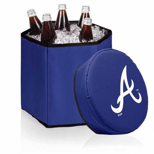 Atlanta Braves Navy Bongo Cooler