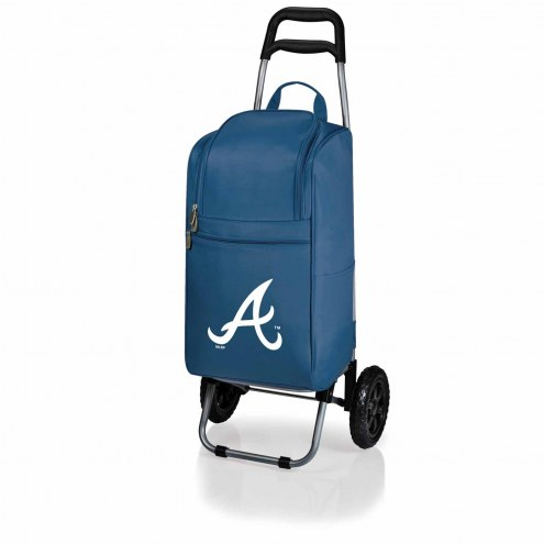 Atlanta Braves Navy Cart Cooler