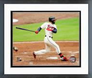 Atlanta Braves Nick Markakis Action Framed Photo