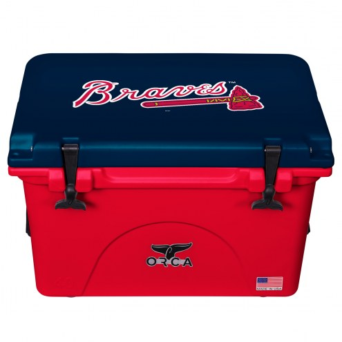 Atlanta Braves ORCA 40 Quart Cooler