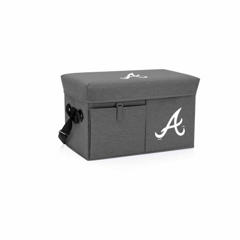 Atlanta Braves Ottoman Cooler & Seat