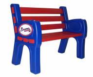 Atlanta Braves Park Bench