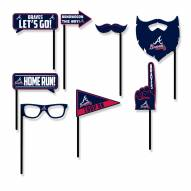 Atlanta Braves Party Props Selfie Kit