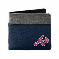 Atlanta Braves Pebble Bi-Fold Wallet