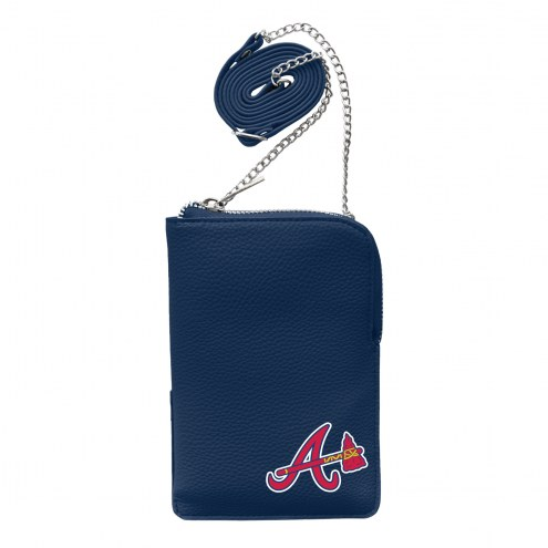 Atlanta Braves Pebble Smart Purse