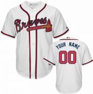 Atlanta Braves Personalized Replica Home Baseball Jersey