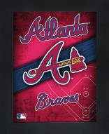 Atlanta Braves Framed 3D Wall Art