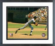Atlanta Braves Phil Niekro Pitching Action Framed Photo