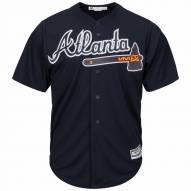 Atlanta Braves Replica Navy Alternate Baseball Jersey