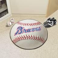 Atlanta Braves Baseball Rug