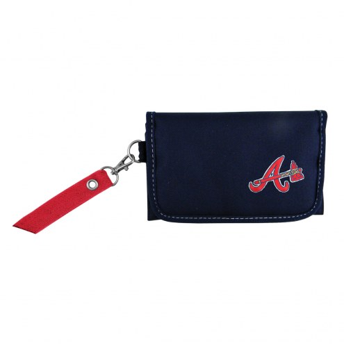 Atlanta Braves Ribbon Organizer Wallet