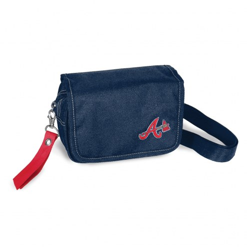 Atlanta Braves Ribbon Waist Pack Purse