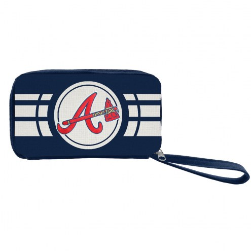 Atlanta Braves Ripple Zip Wallet