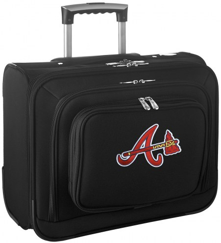 Atlanta Braves Rolling Laptop Overnighter Bag