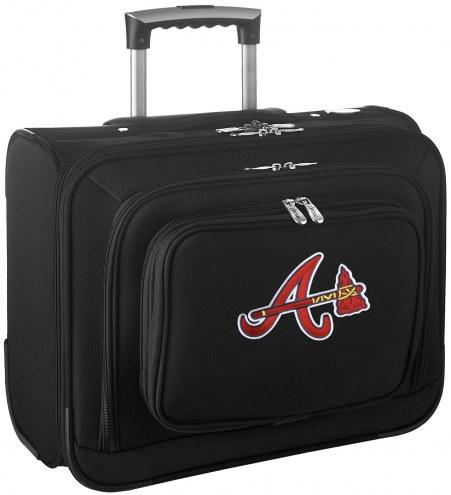 Atlanta Braves Rolling Laptop Overnighter Bag