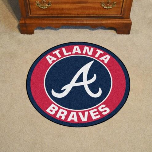 Atlanta Braves Rounded Mat