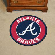 Atlanta Braves Rounded Mat