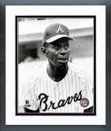 Atlanta Braves Satchel Paige 1969 Posed Framed Photo