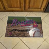 Atlanta Braves Scraper Door Mat