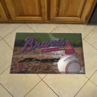 Atlanta Braves Scraper Door Mat