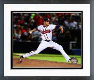 Atlanta Braves Shae Simmons Action Framed Photo