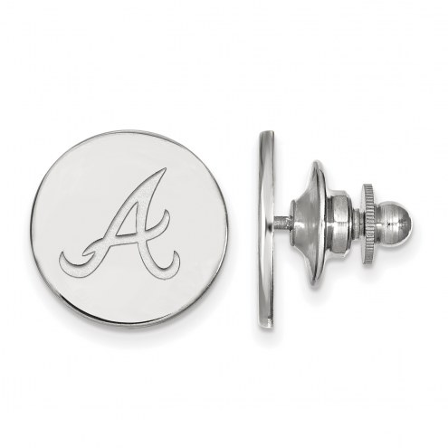 Atlanta Braves Sterling Silver Lapel Pin