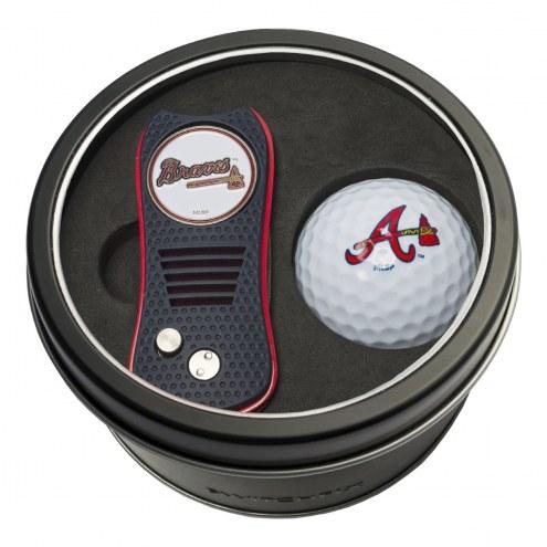 Atlanta Braves Switchfix Golf Divot Tool & Ball