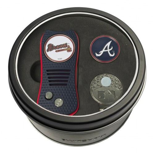Atlanta Braves Switchfix Golf Divot Tool, Hat Clip, & Ball Marker