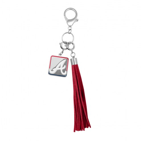Atlanta Braves Tassel Purse Charm