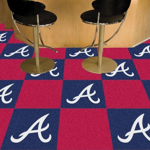 Atlanta Braves Team Carpet Tiles
