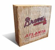 Atlanta Braves Team Logo Block