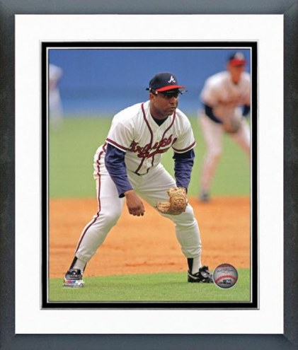 Atlanta Braves Terry Pendleton Action Framed Photo
