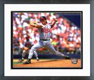 Atlanta Braves Tom Glavine 1992 Action Framed Photo