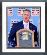 Atlanta Braves Tom Glavine HOF Induction Ceremony Framed Photo