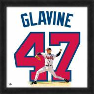 Atlanta Braves Tom Glavine Uniframe Framed Jersey Photo