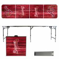 Atlanta Braves Victory Folding Tailgate Table