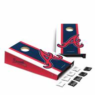 Atlanta Braves Mini Cornhole Set