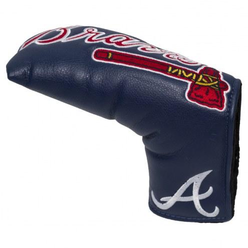 Atlanta Braves Vintage Golf Blade Putter Cover
